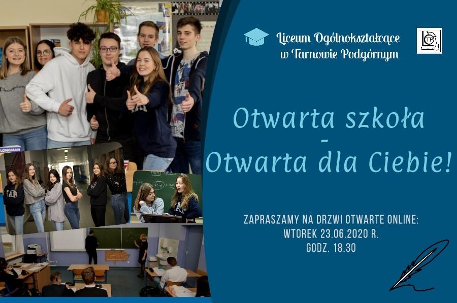 Otwarta szkoła - plakat